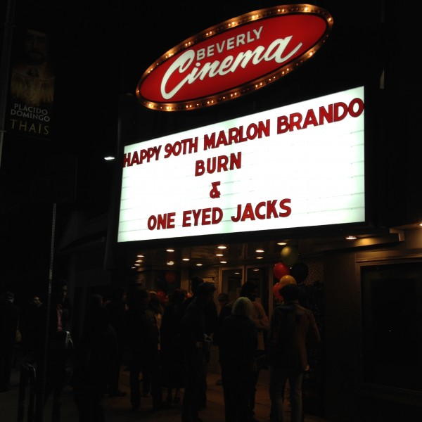 Marlon Brando's 90th Birthday Cinematic Celebration at The New Beverly Cinema